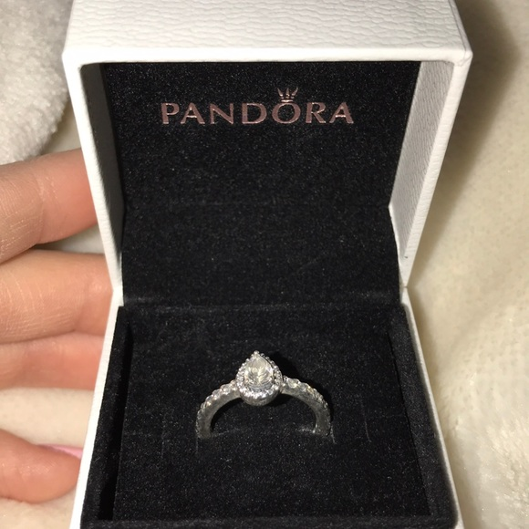37da8136e Pandora Radiant Teardrop Ring. M_5a6257bbf9e50183eb147b79
